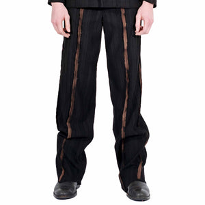 Tailored Bleached Suit Trousers
