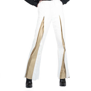 Two-Tone Fold Trousers