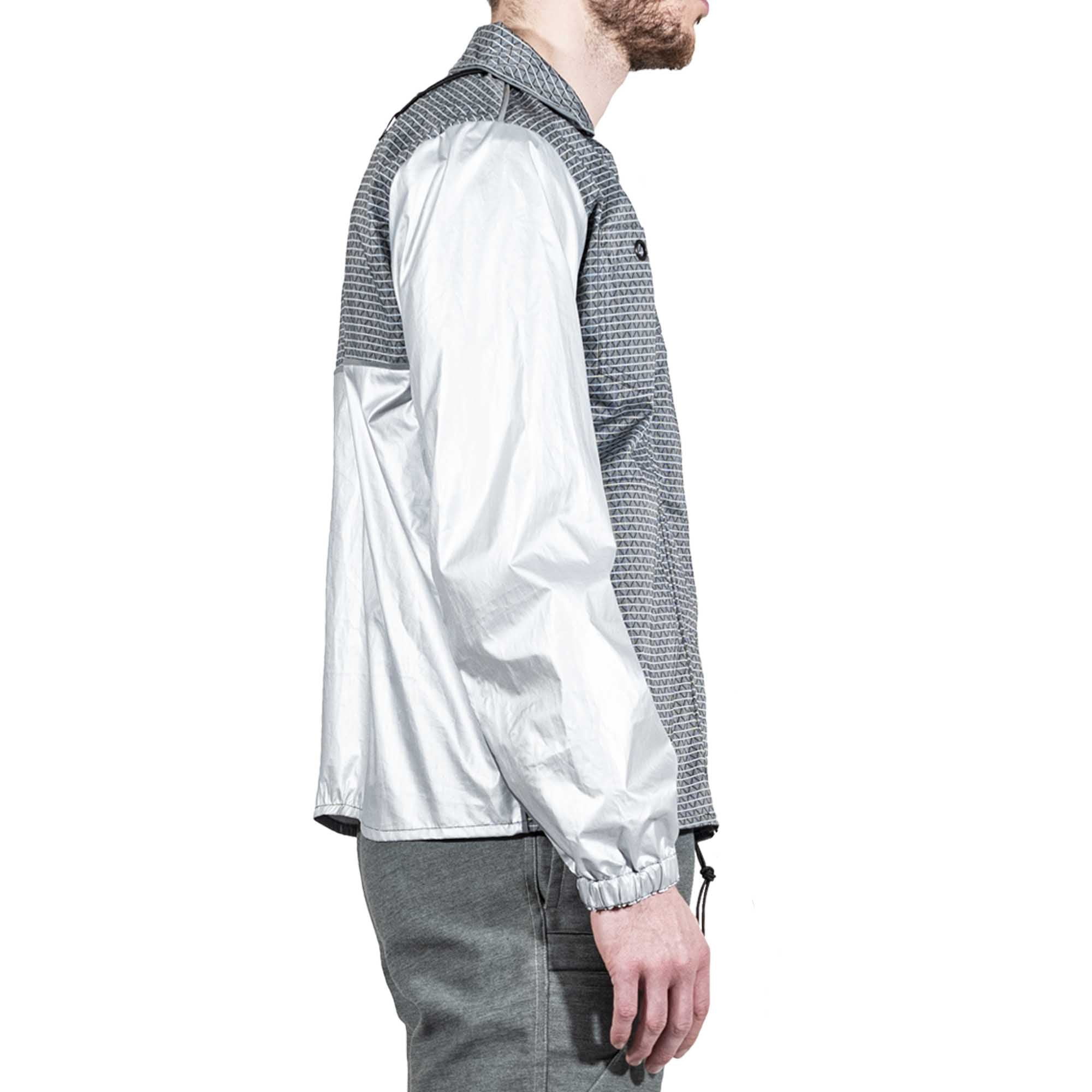Two-Tone Reflective Windbreaker