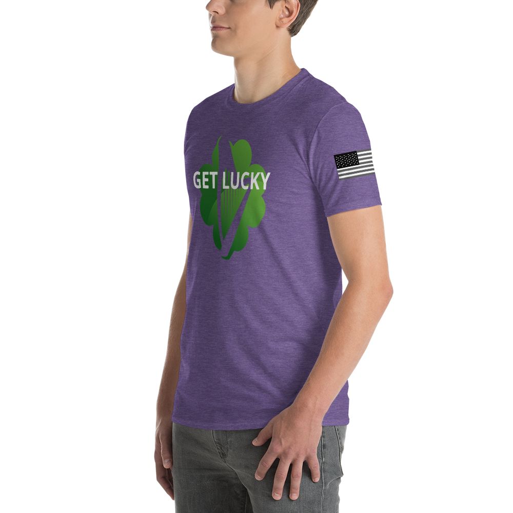 "Wes O'Donnell ""Get Lucky"" Short-Sleeve T-Shirt - Wes O'Donnell Speaking"