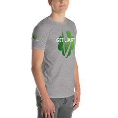 "Wes O'Donnell ""Get Lucky"" Short-Sleeve T-Shirt"
