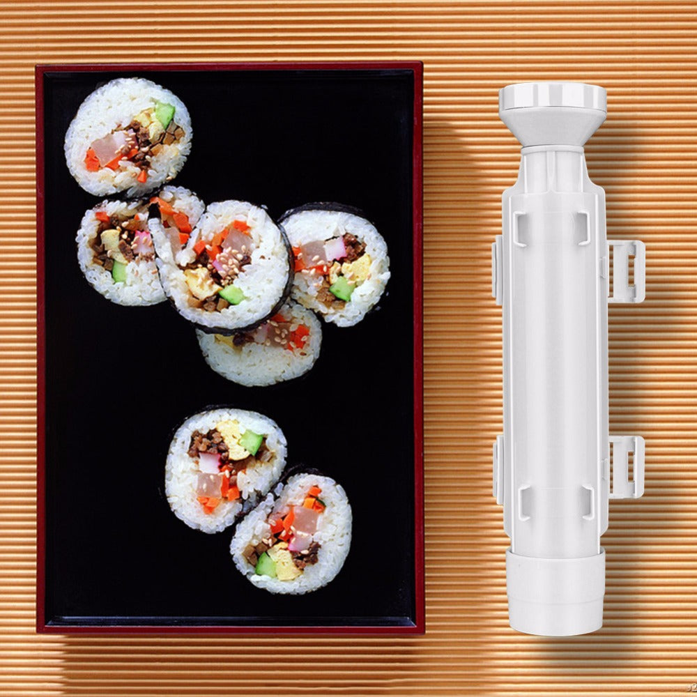 Sushi Roller Maker Tools Roll Mold Making Kit Sushi Bazooka Rice Meat  Vegetables DIY Making Kitchen Tools Gadgets Accessories