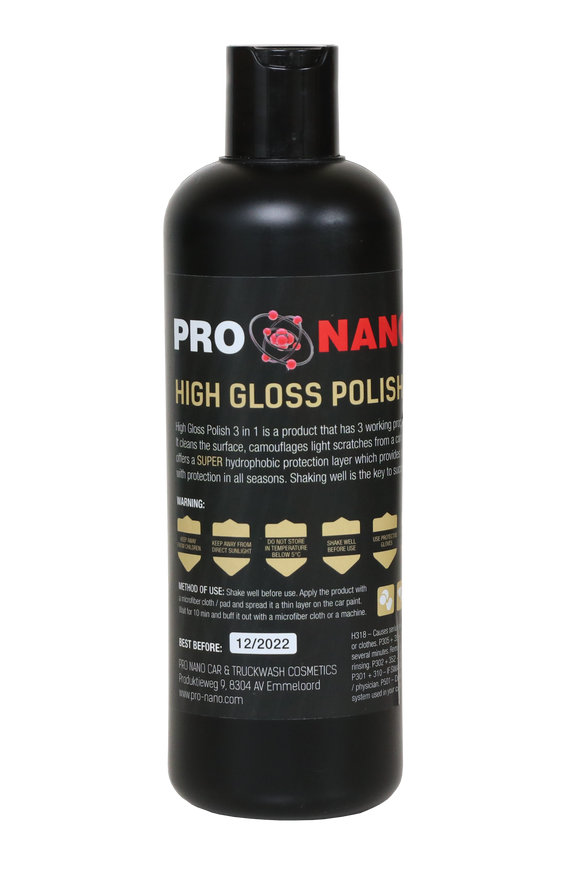 500ml High Gloss Polish