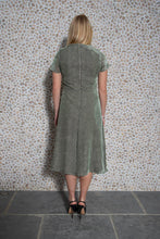 Load image into Gallery viewer, Audrey Velvet Jacquard Dress