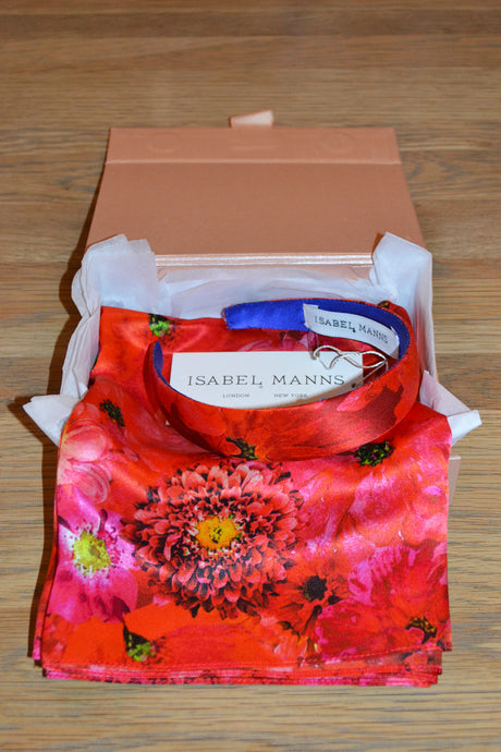 Coral Reef Scarf & Headband Small Gift Box