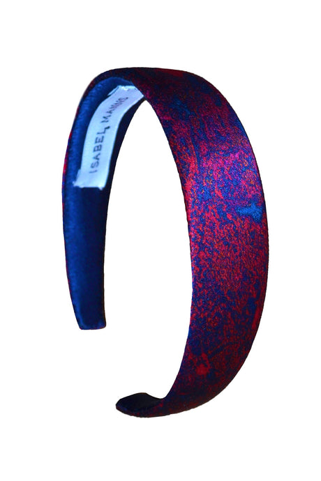 Fire Ocean Silk Satin Headband