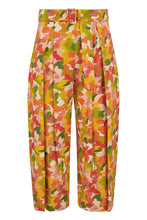 Load image into Gallery viewer, Matilda Cotton Culotte Trousers - Multi Marinace