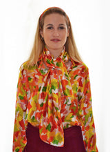 Load image into Gallery viewer, Multi Marinace Silk Scarf