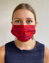 Load image into Gallery viewer, Scarlett Pebbles Adjustable Cotton Mask