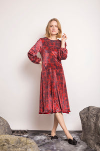 REVERSIBLE Julia Velvet Dress