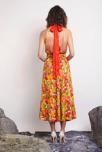 Load image into Gallery viewer, REVERSIBLE Sustainable Lizzy Skirt - Multi Marinace/Terracotta