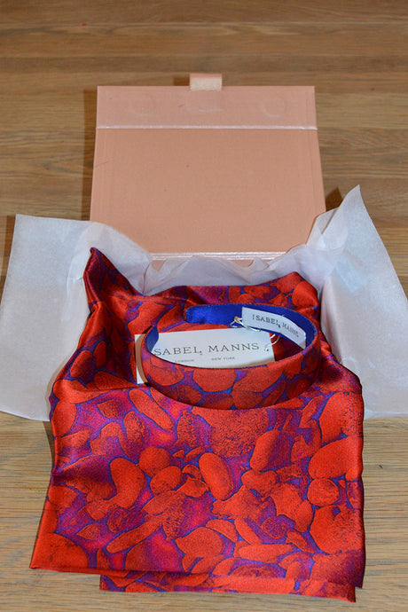Scarlett Pebbles Scarf & Headband Small Gift Box