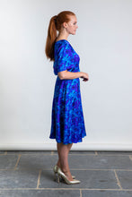 Load image into Gallery viewer, REVERSIBLE Cecilia Skirt - Blue Admiral/Teal
