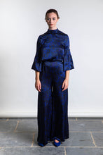 Load image into Gallery viewer, Lottie Silk Satin Palazzo Pants