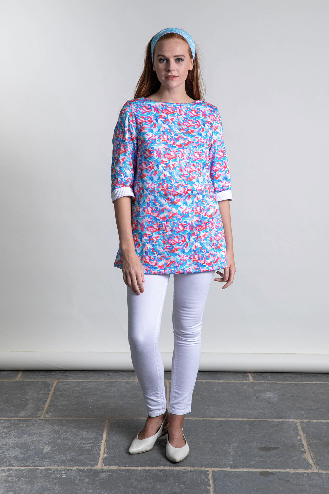 REVERSIBLE Valerie Cotton Tunic Top