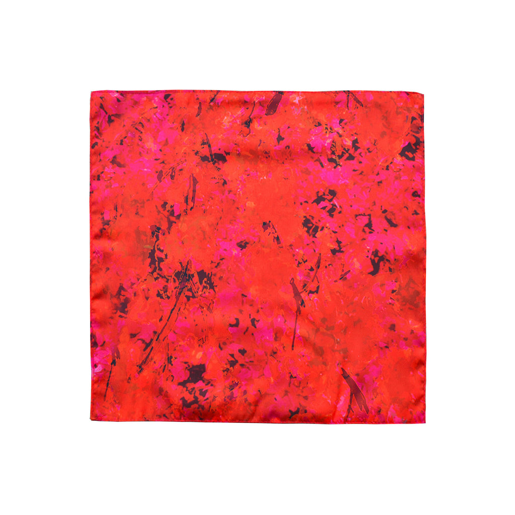 Sunset Meadow Pocket Square