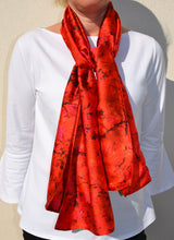 Load image into Gallery viewer, Sunset Meadow Scarf