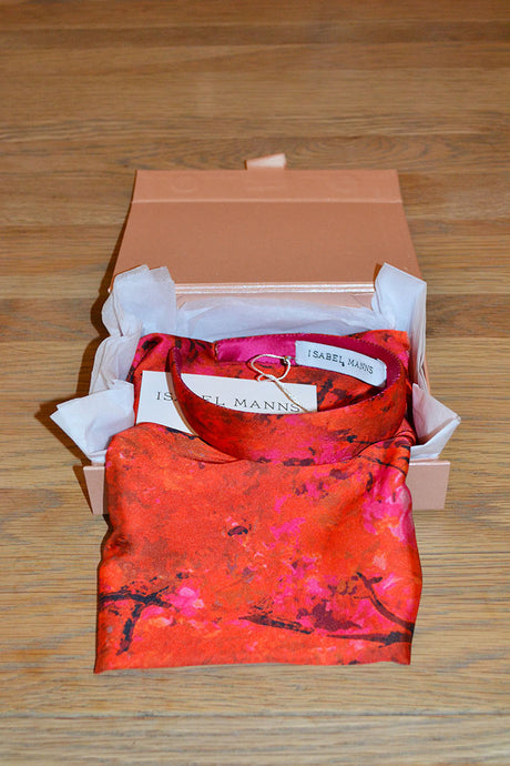 Sunset Meadow Scarf & Headband Small Gift Box