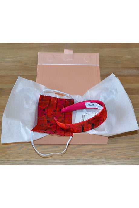 Sunset Meadow Mask & Headband Small Gift Box