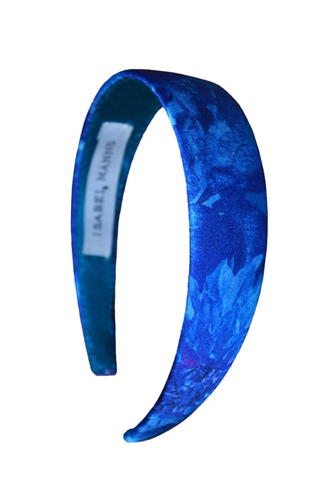Blue Admiral Satin Headband