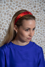 Load image into Gallery viewer, Coral Reef Silk Satin Headband