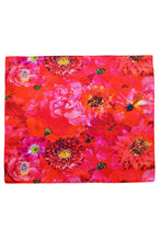 Load image into Gallery viewer, Coral Reef Satin Small Rectangle Scarf