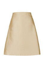 Load image into Gallery viewer, REVERSIBLE Tammy Skirt - Sunset Meadow/Gold
