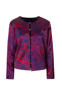 REVERSIBLE Amanda Jacket - Fire Ocean