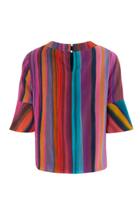 REVERSIBLE Rosie Silk Top - Summer Sensuality