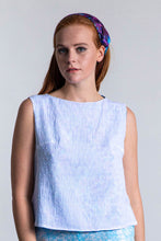 Load image into Gallery viewer, REVERSIBLE Olivia Top - Forget Me Not