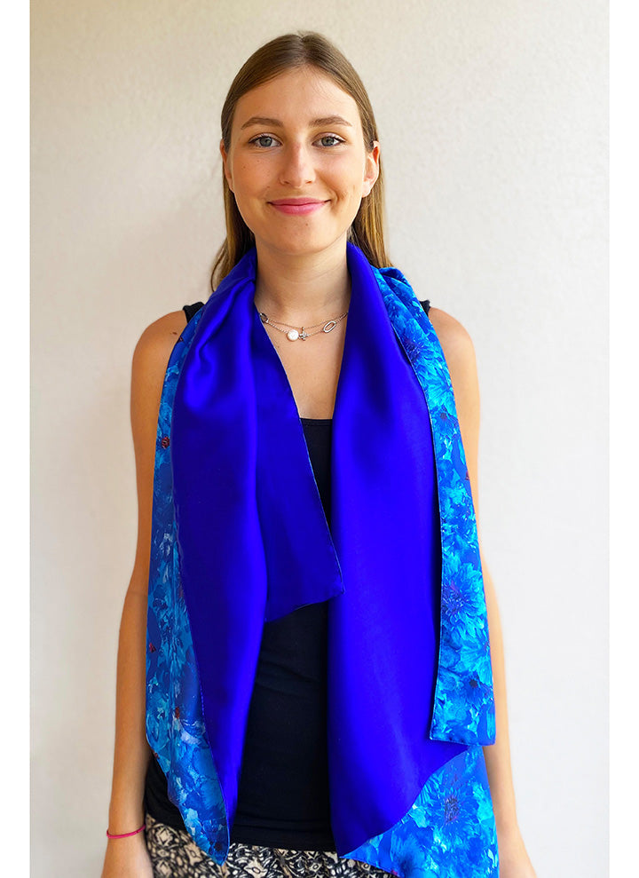 Blue Admiral REVERSIBLE Scarf & Headband Small Gift Box