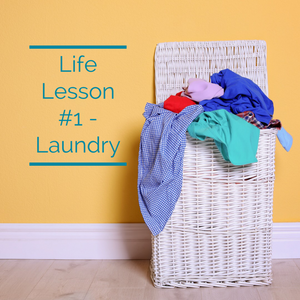 Life Lesson #1 – Laundry