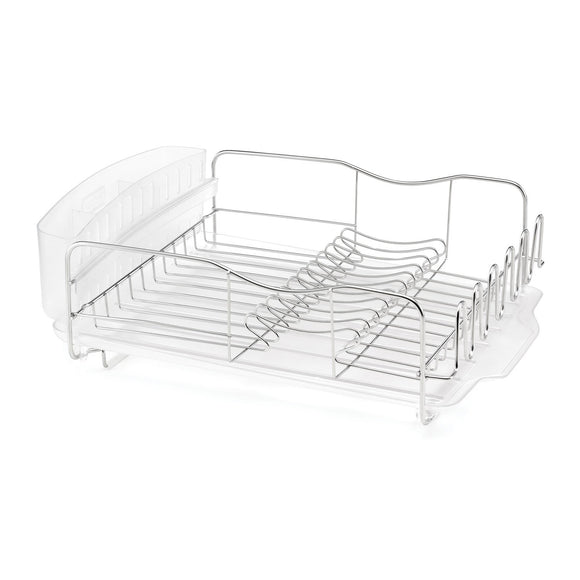 Advantage Dish Rack Drain Tray-Clear