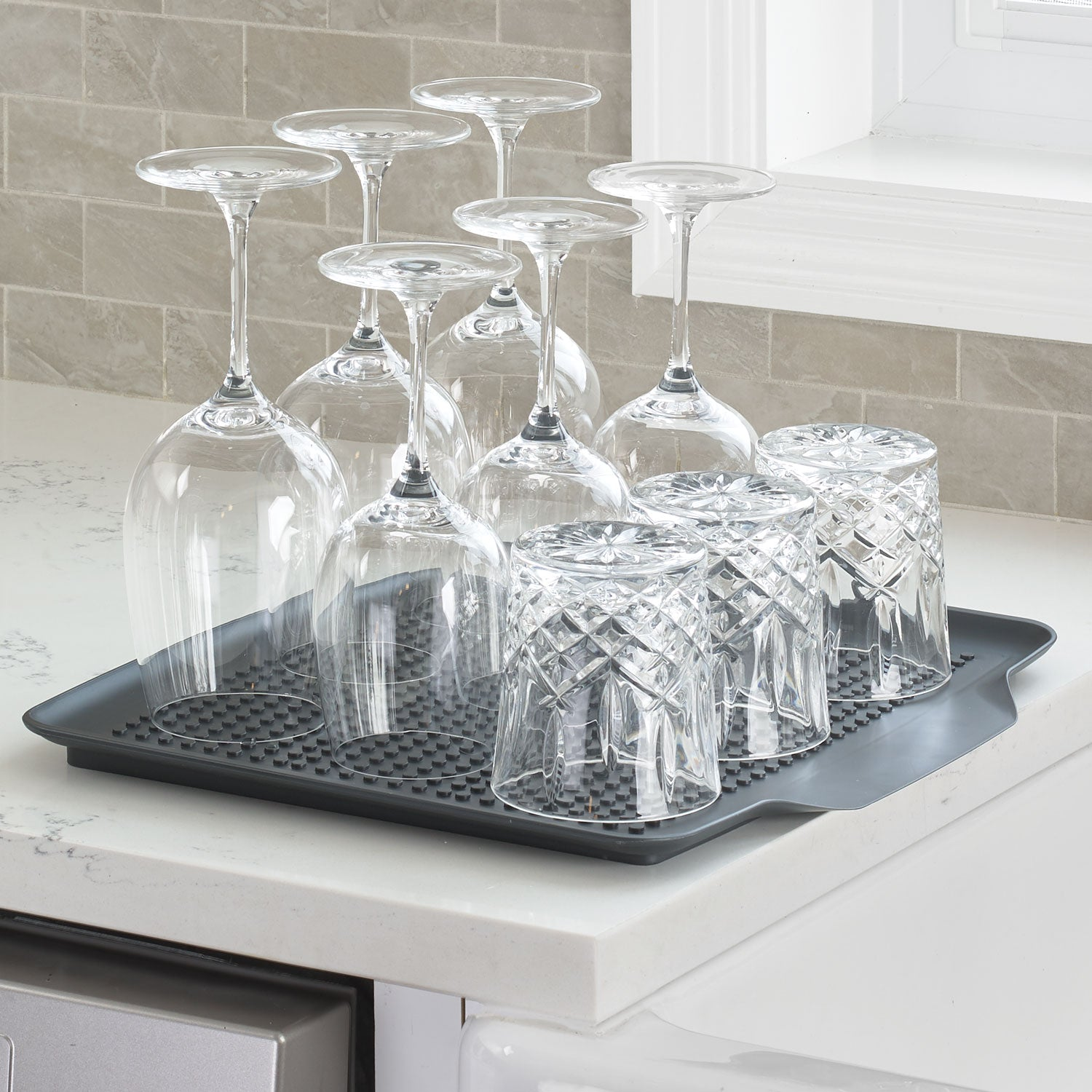 4-Piece Aluminum Advantage Dish Rack