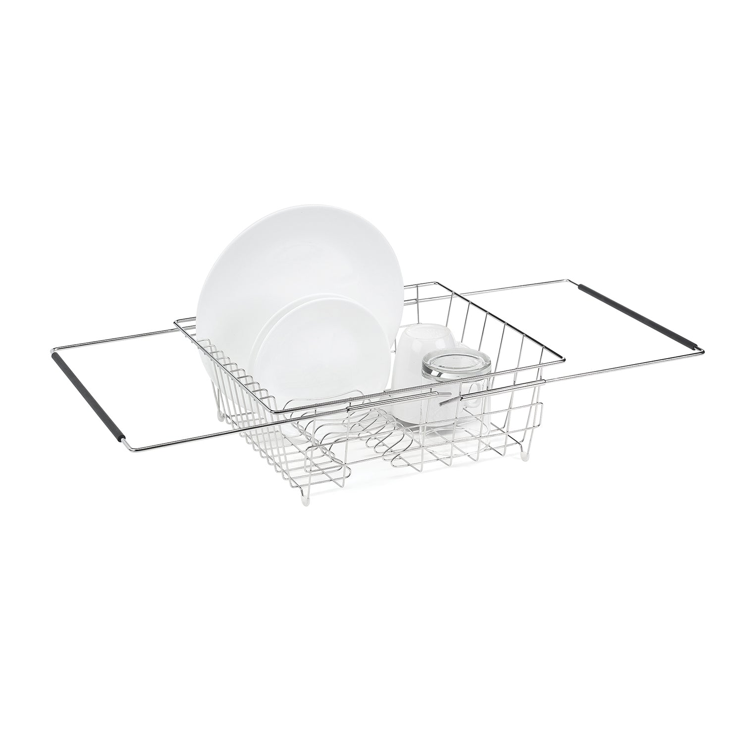 Expandable In-Sink Dish Rack