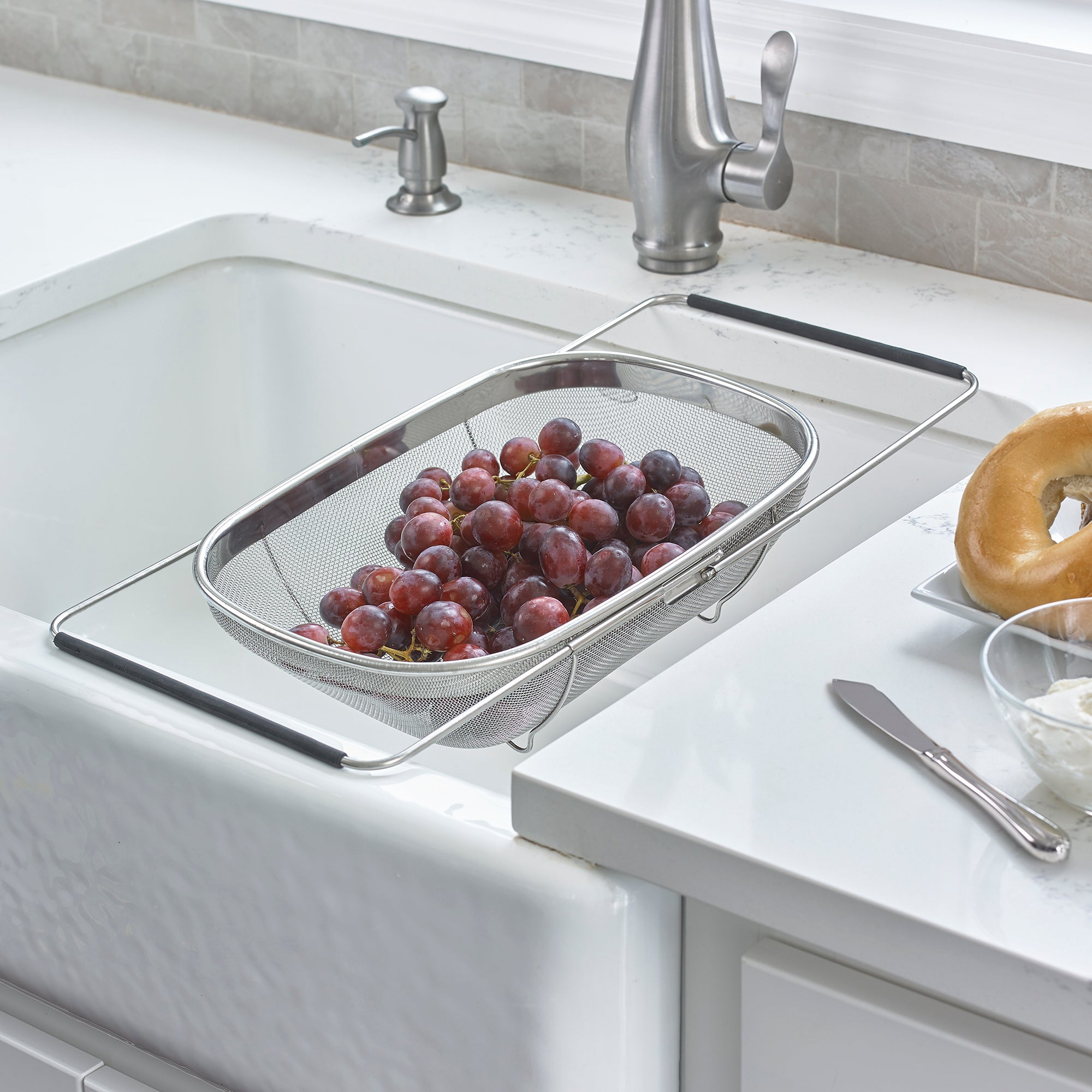 Expandable Sink Strainer