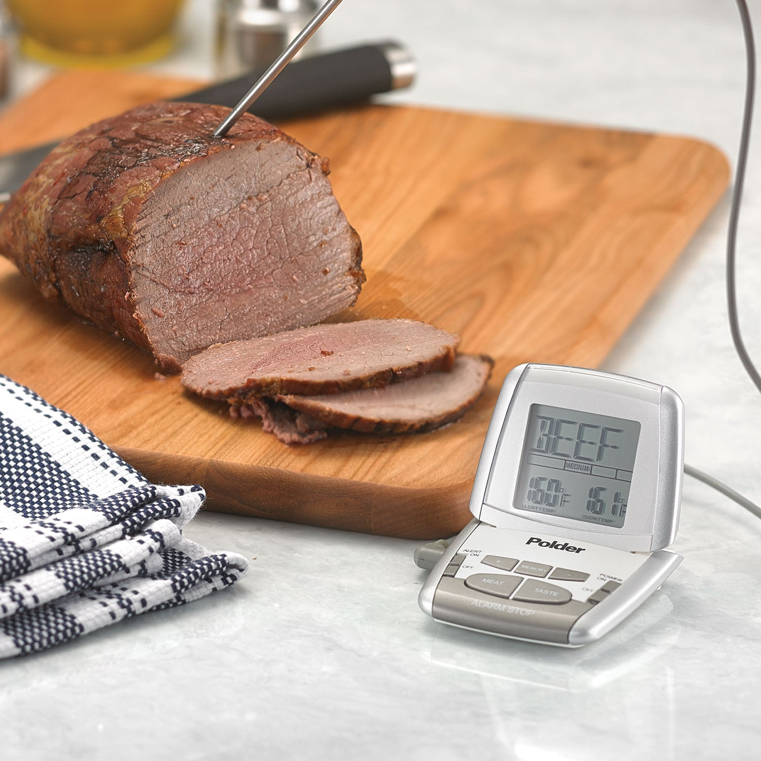Programmable In-Oven Thermometer with Ultra Probe