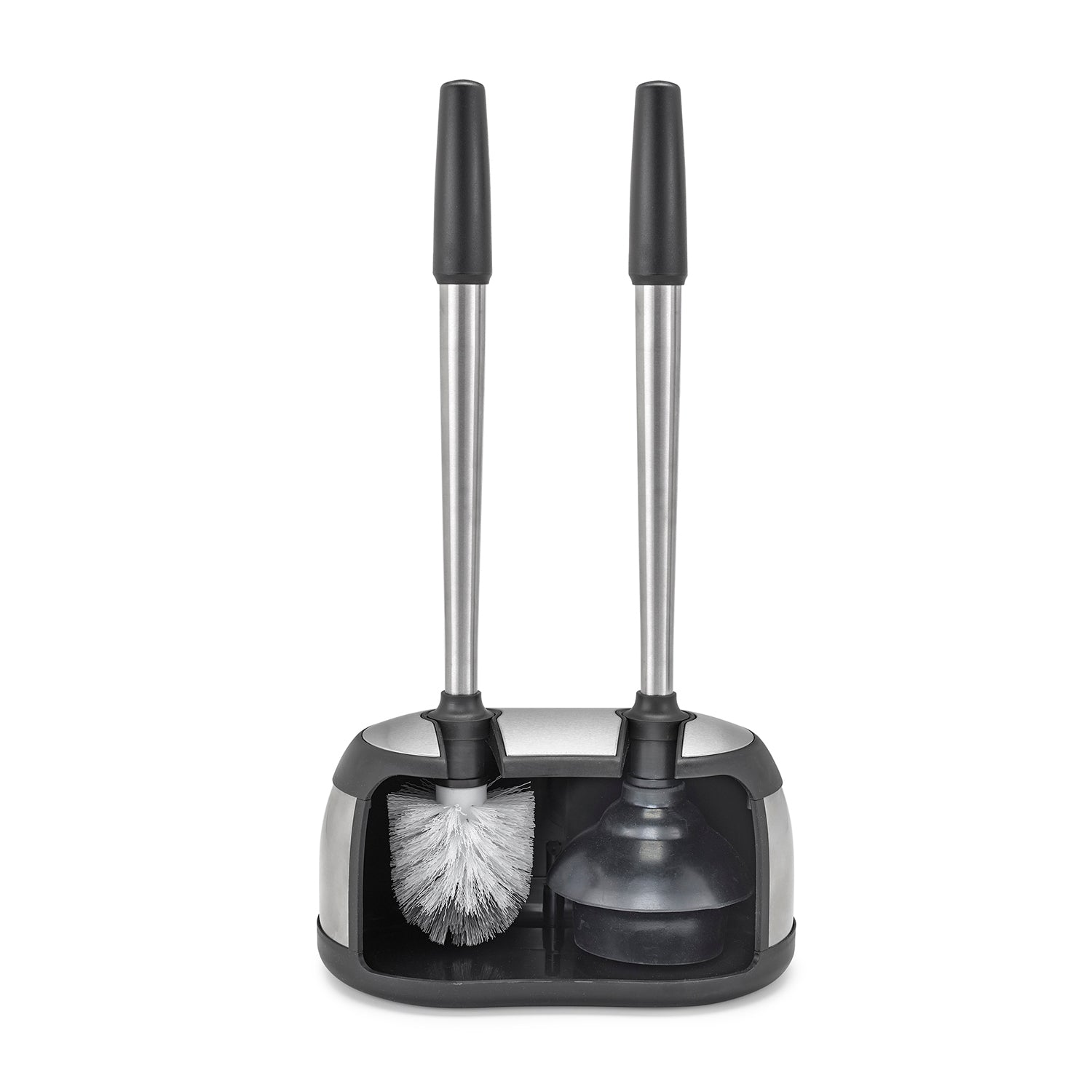 Toilet Brush & Plunger Caddy
