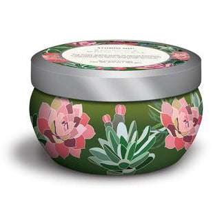 Candle Tin - Bamboo & White Floral