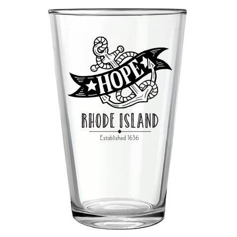 Pint Glass - Hope Anchor