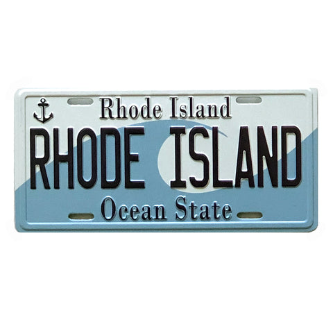 Magnet - RI License Plate