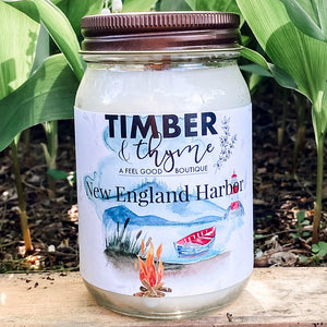 Timber & Thyme 16 oz. Candle - NE Harbor