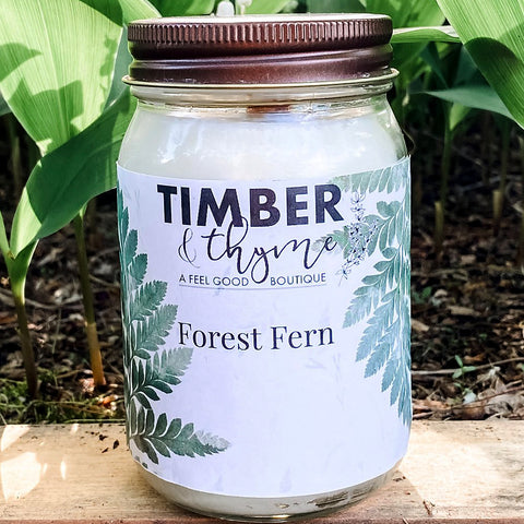 Timber & Thyme 16 oz. Candle - Forest Fern