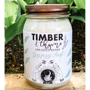 Timber & Thyme 16 oz. Candle - Gypsy Soul