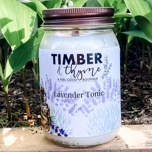Timber & Thyme 16 oz. Candle - Lavender