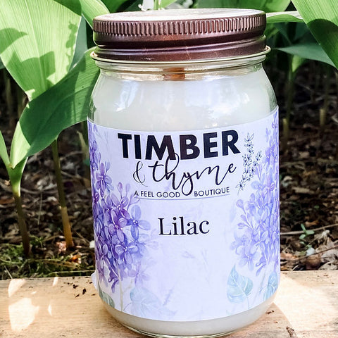 Timber & Thyme 16 oz. Candle - Lilac