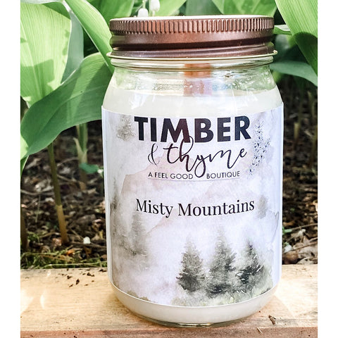 Timber & Thyme 16 oz. Candle - Misty Mountain
