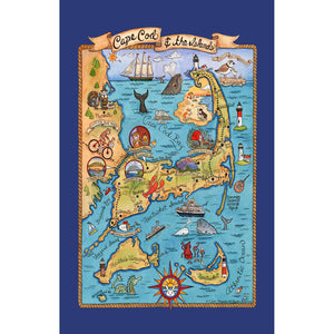 Cape Cod Tea Towel