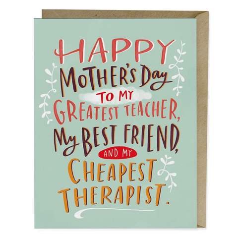 Mother's Day - Cheapest Therapist