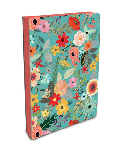 Coptic-bound Journal - Flowers